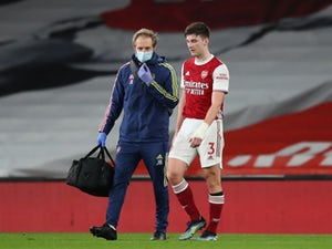 Arteta expecting Tierney to miss rest of season