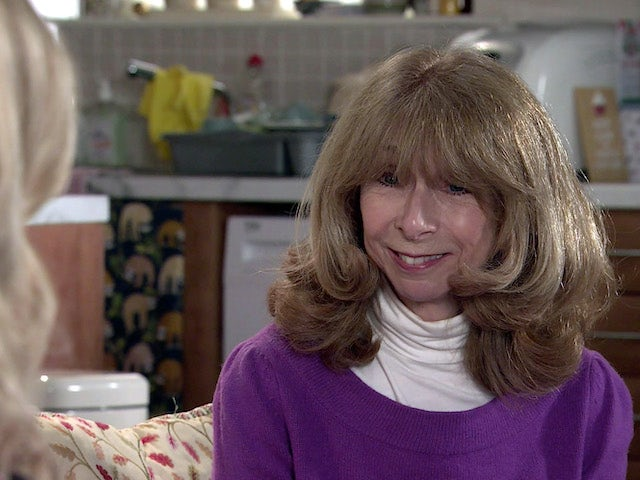 Gail on the second episode of Coronation Street on April 14, 2021