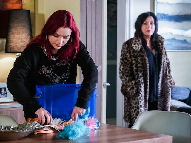 Whit and Kat on EastEnders on April 12, 2021