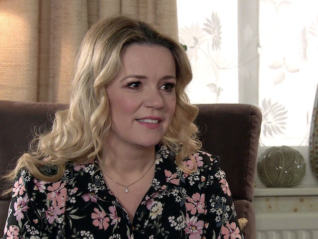 Natasha on the second episode of Coronation Street on April 14, 2021