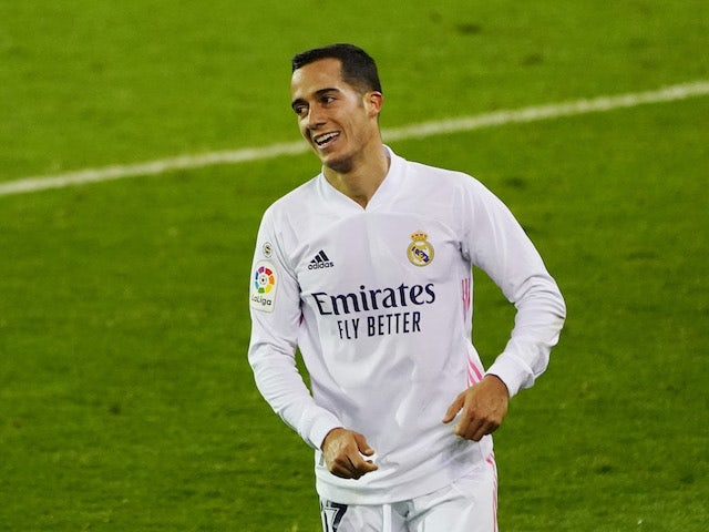 Real Madrid's Lucas Vazquez in action on December 20, 2020