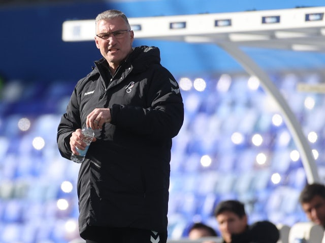 Nigel Pearson in charge of Bristol City in March 2021