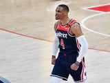 Russell Westbrook pictured on March 30, 2021