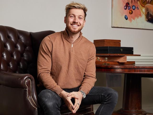 Sam Thompson for Made In Chelsea series 21