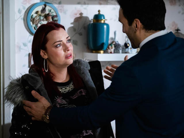 Whit and Kush on EastEnders on April 12, 2021