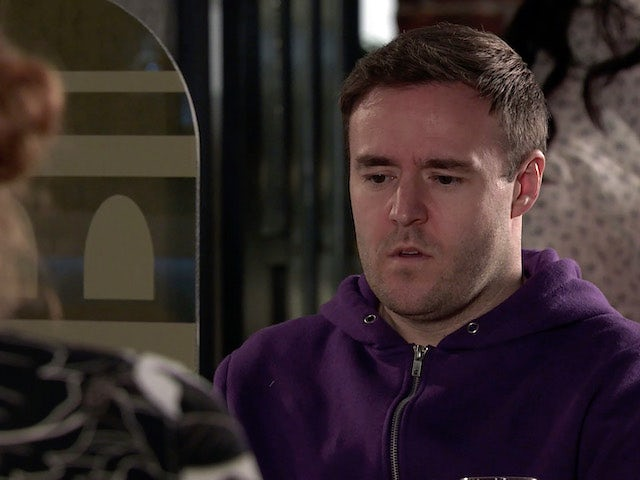 Tyrone on Coronation Street on April 16, 2021