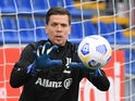 Juventus goalkeeper Wojciech Szczesny pictured in March 2021