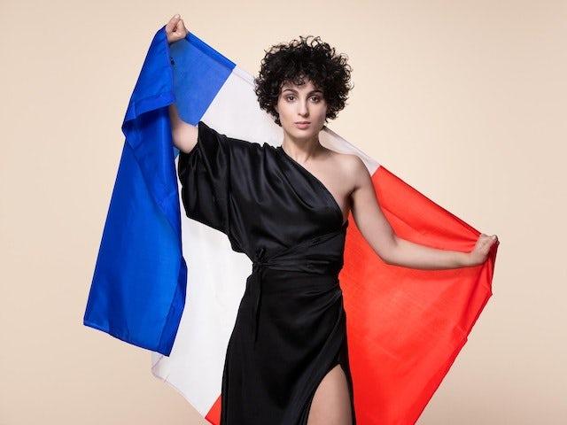Barbara Pravi for France at Eurovision 2021