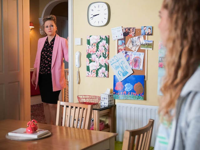 Linda on EastEnders on April 20, 2021