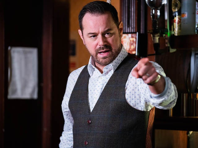 Mick on EastEnders on April 20, 2021