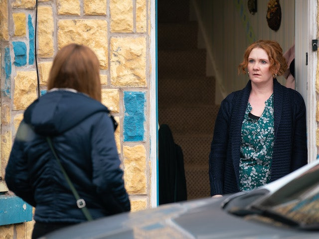 Fiz on the second episode of Coronation Street on April 21, 2021