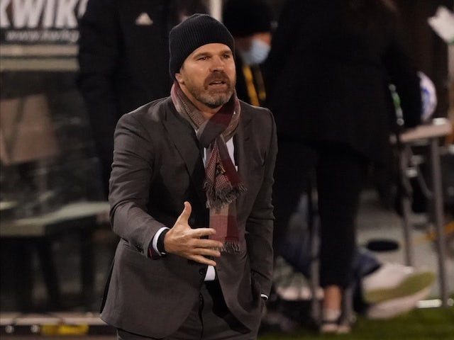 Greg Vanney, now in charge of Los Angeles Galaxy (LA Galaxy), pictured in November 2020