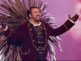 Jason Manford as Hedgehog on ITV's The Masked Singer