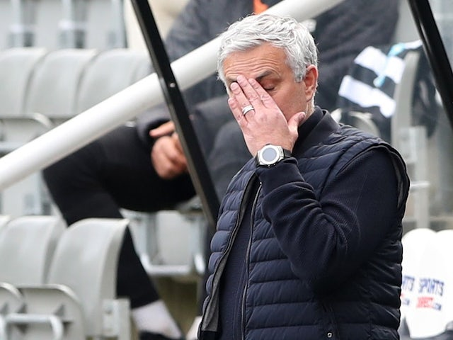 Jose Mourinho brushes off sponsor questions