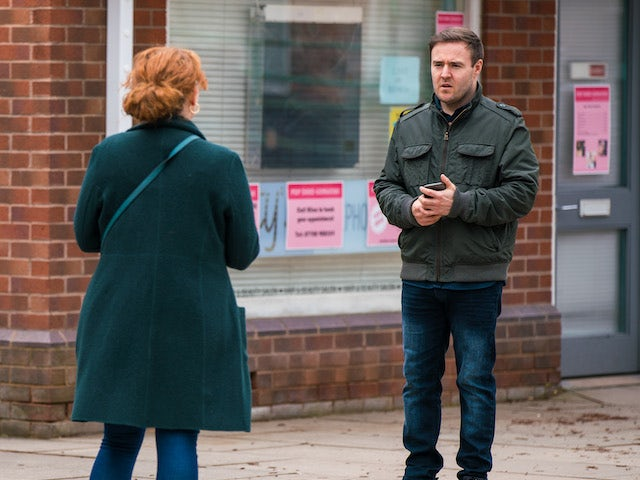 Tyrone on Coronation Street on April 23, 2021