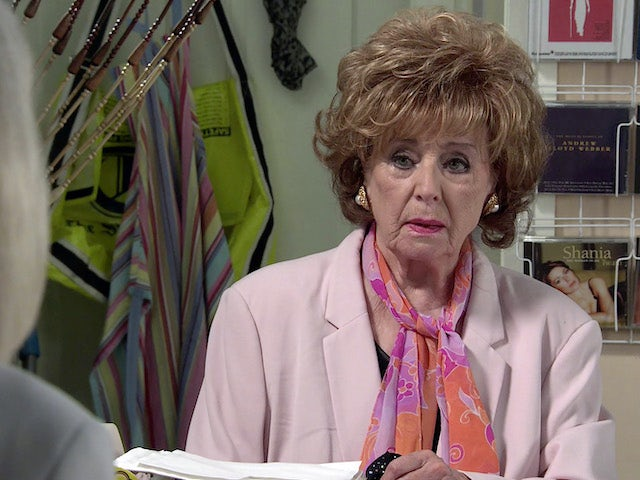 Rita on the first episode of Coronation Street on April 21, 2021