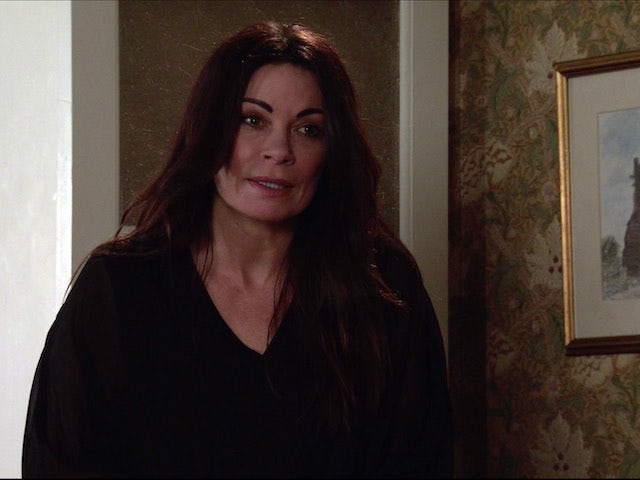 Carla on the second episode of Coronation Street on April 19, 2021