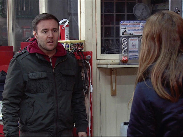 Tyrone on the second episode of Coronation Street on April 19, 2021
