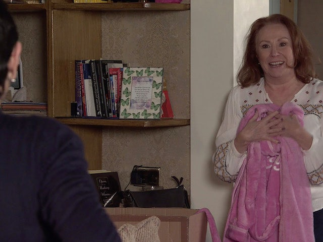 Cathy on the second episode of Coronation Street on April 21, 2021