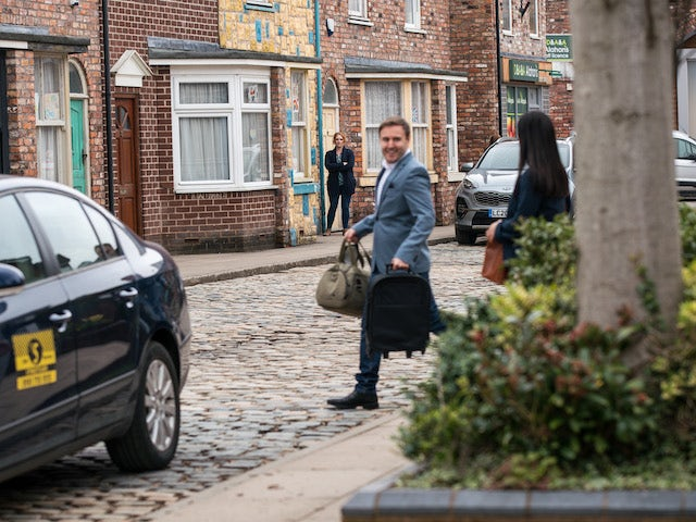 Tyrone on the second episode of Coronation Street on April 21, 2021