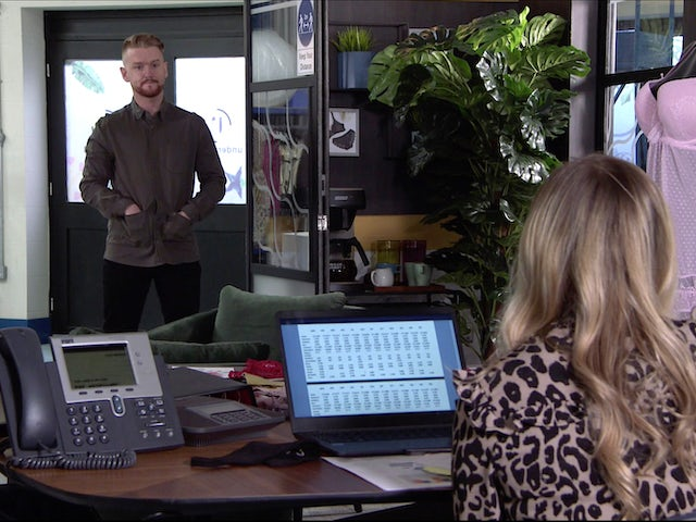 Gary on Coronation Street on April 23, 2021