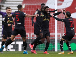 Middlesbrough 1-1 Watford: Yannick Bolasie rescues point for hosts