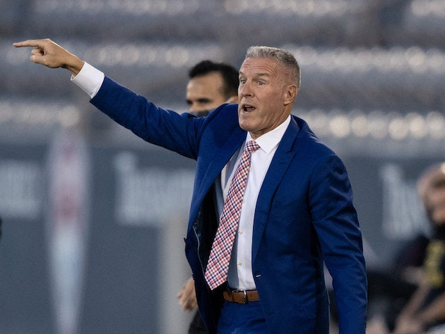 Sporting Kansas City head coach Peter Vermes pictured in August 2020