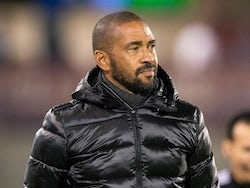 Colorado Rapids head coach Robin Fraser looks on in the first half against the Orlando City SC at Dick's Sporting Goods Park in March 2020