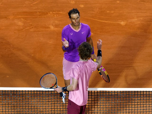 Result: Rafael Nadal suffers shock Monte Carlo defeat to Andrey Rublev