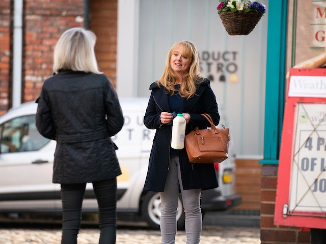 Jenny on the second episode of Coronation Street on April 30, 2021