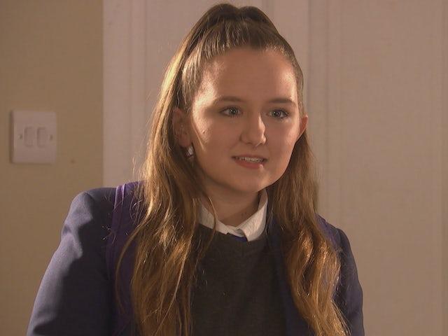 Leah on Hollyoaks on April 26, 2021