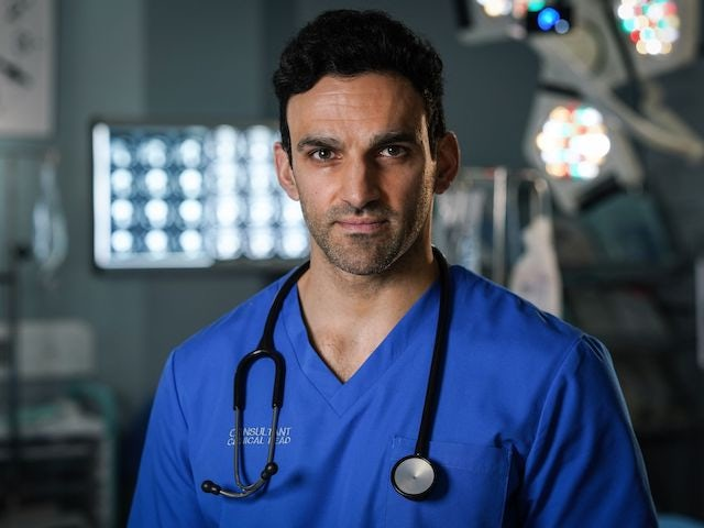 Davood Ghadami joins Holby City after EastEnders exit