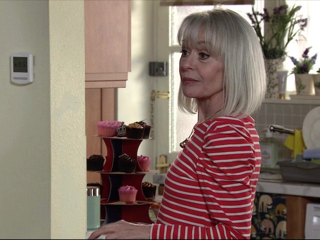 Sharon on the second episode of Coronation Street on April 28, 2021