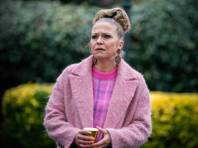 Linda on EastEnders on April 26, 2021