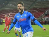 Napoli's Dries Mertens pictured in December 2020