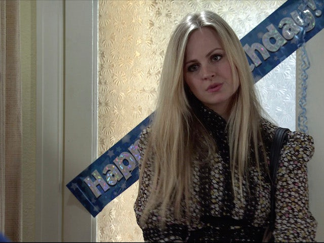 Sarah on the second episode of Coronation Street on April 28, 2021
