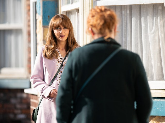 Maria on the second episode of Coronation Street on April 26, 2021