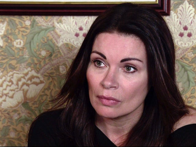 Carla on the second episode of Coronation Street on April 28, 2021