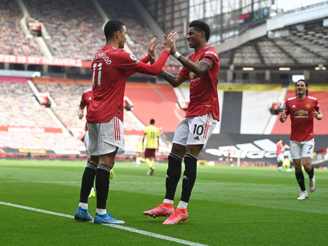 Result: Man United 3-1 Burnley - highlights, man of the match, stats
