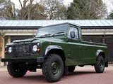 The Land Rover to be used to transport the coffin of Prince Philip