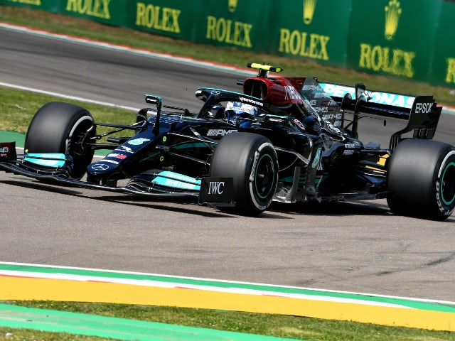 Result: Valtteri Bottas tops chaotic first practice in Imola