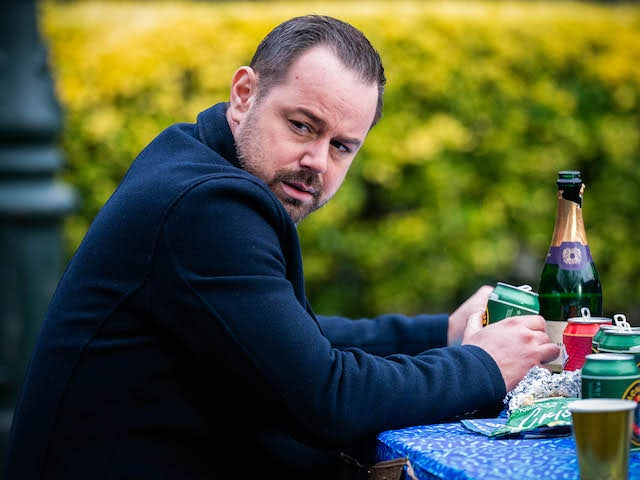Mick on EastEnders on April 26, 2021