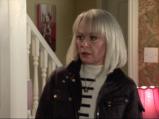 Sharon on the second episode of Coronation Street on May 3, 2021