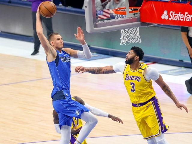 NBA roundup: Anthony Davis returns as Lakers lose to Mavericks