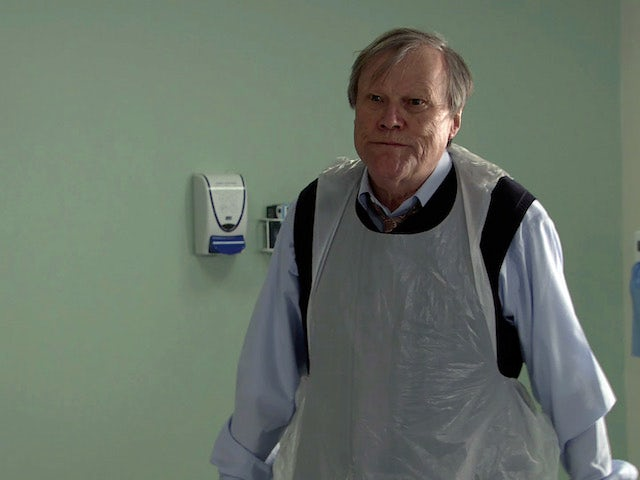 Roy on the first episode of Coronation Street on May 7, 2021