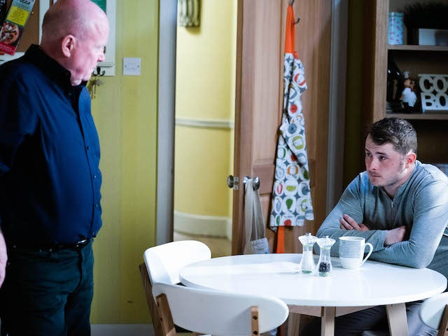 Phil and Ben on EastEnders on May 6, 2021