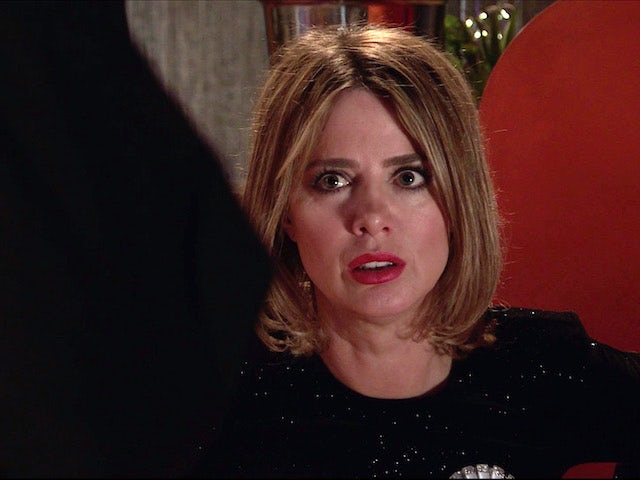 Abi on the second episode of Coronation Street on May 5, 2021