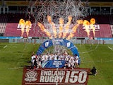 England Women celebrate winning the Six Nations title on April 24, 2021