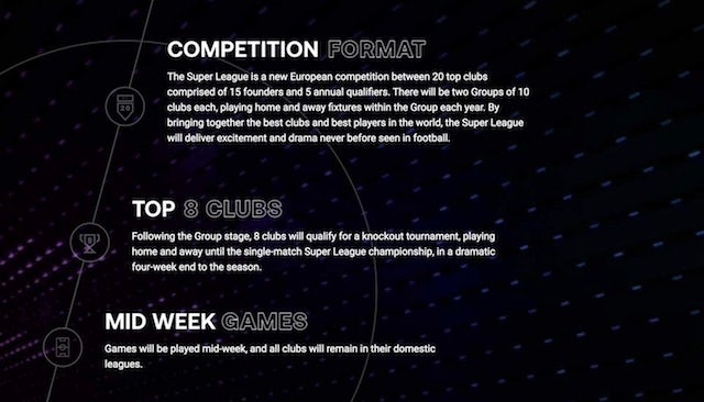 The Super League competition format *NOT TO BE USED AS ARTICLE OR INDEX IMAGE*