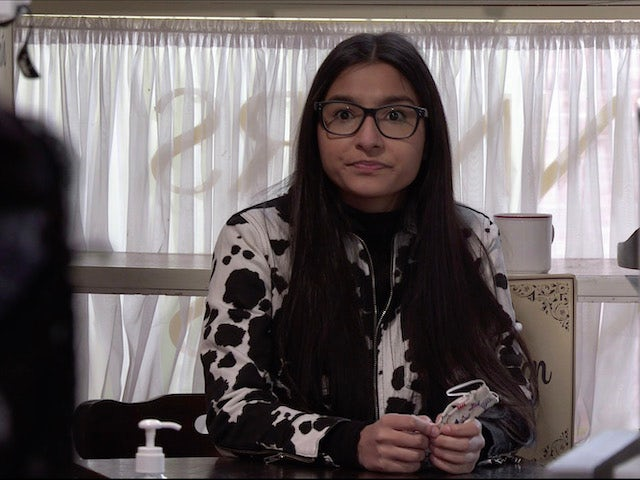Asha on the second episode of Coronation Street on May 3, 2021